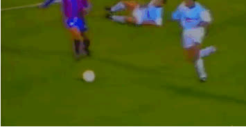 Ronaldo classic goal for Barcelona against Compostela… GIFs