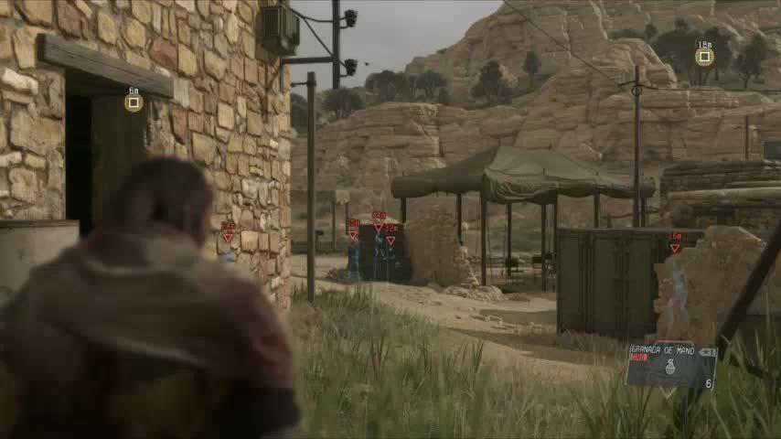 MetalGearSolid, Metal Gear Solid V: The Phantom Pain - Grenade GIFs