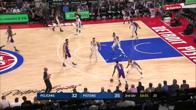 Watch DET18 bg recovery hedge GIF by m_james_snyder on Gfycat. Discover more Detroit Pistons, New Orleans Pelicans, basketball GIFs on Gfycat