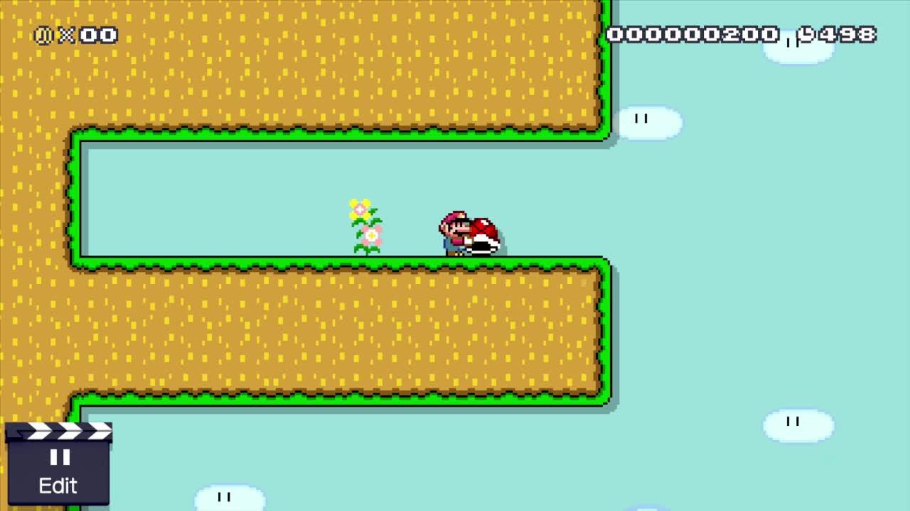 MarioMaker, mariomaker, Reverse Shell Jump GIFs