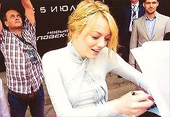 Aww baby, Emma Stone, Gif, my thingys, hope you got insurance GIFs