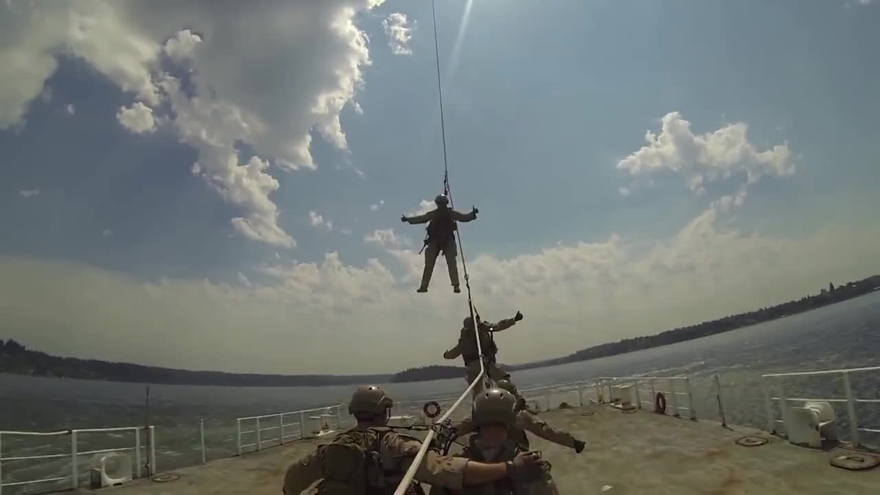 MARINES, Recon, helicopter, jarhead, leatherneck, military, reconnaissance, seattle, seattleites, spie, usmc, RAW FOOTAGE: First-Person SPIE Rigging GIFs