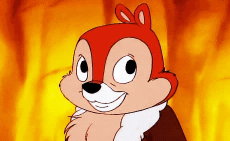 ashamed, blush, blushing, chip, dale, red, shy, smile, Blushing Chip GIFs
