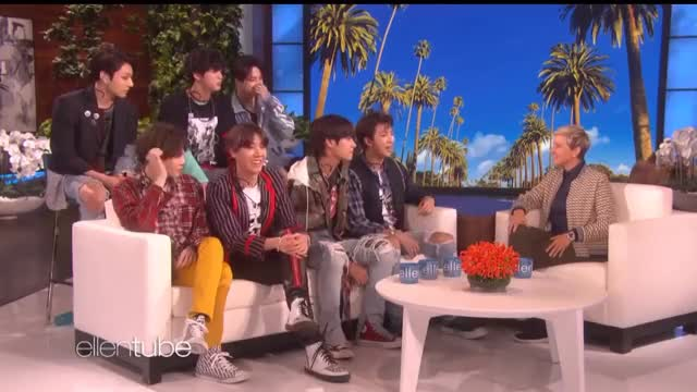 Watch this bts GIF on Gfycat. Discover more bts, ellen, music GIFs on Gfycat