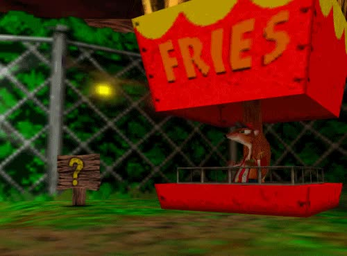 Watch and share Grant Kirkhope GIFs and Gregg Mayles GIFs on Gfycat