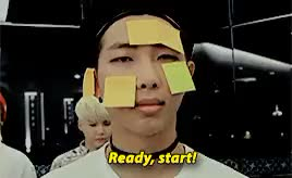Watch and share Bangtan Boys GIFs and Rap Monster GIFs on Gfycat