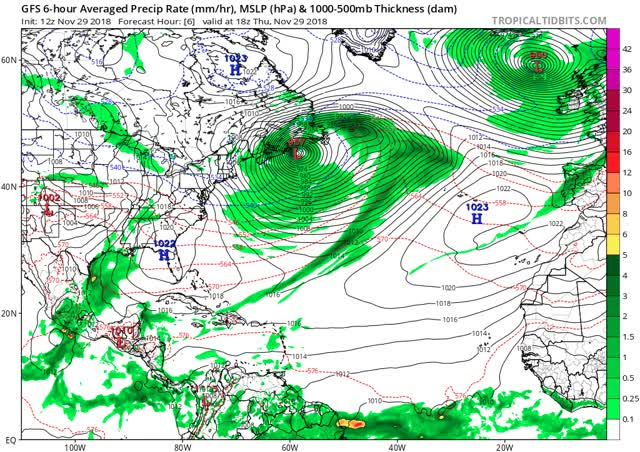 Watch and share Gfs Mslp Pcpn Atl Fh6-108 GIFs by The Watchers on Gfycat
