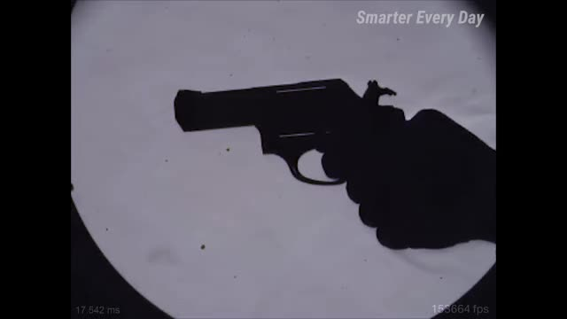 Shockwave Shadows in Ultra Slow Motion (Bullet Schlieren) - Smarter