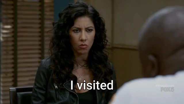 Watch and share Stephanie Beatriz GIFs and Andre Braugher GIFs by thefakegm on Gfycat