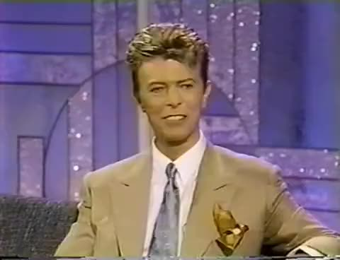 Watch and share Celebrities GIFs and David Bowie GIFs on Gfycat