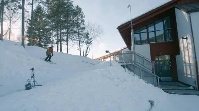 Watch and share HMRB While I Backflip Onto This Rail (reddit) GIFs on Gfycat
