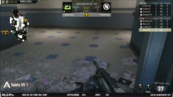 CoDCompetitive, codcompetitive, Saints gets warriored by Crimsix on LAN (reddit) GIFs