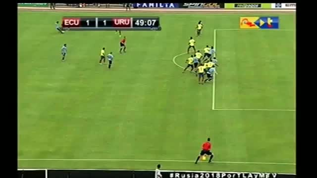 Watch Ecuador 1-1 Uruguay GIF by @mchto on Gfycat. Discover more soccer GIFs on Gfycat
