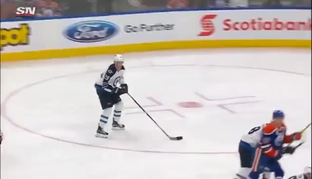 Watch and share Patrik Laine Scores Own Goal 12/11/16 GIFs on Gfycat