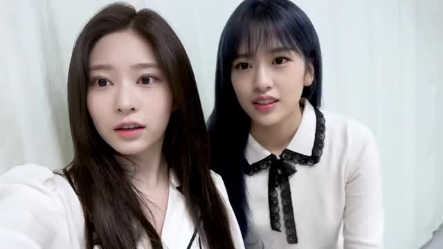 Watch and share Ahn Yujin GIFs and Kim Minju GIFs by Just10 on Gfycat
