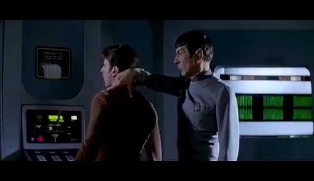 Watch Leonard Nimoy On The Vulcan Neck Pinch | EPIX GIF on Gfycat. Discover more related GIFs on Gfycat