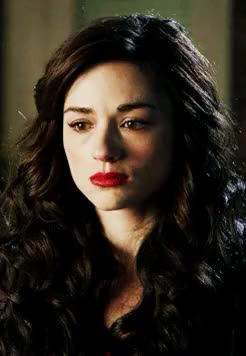 Watch and share Allison Argent GIFs and Crystal Reed GIFs on Gfycat