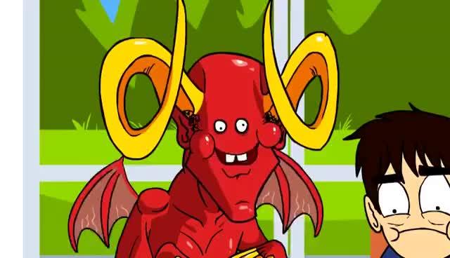 Watch and share Satan GIFs on Gfycat