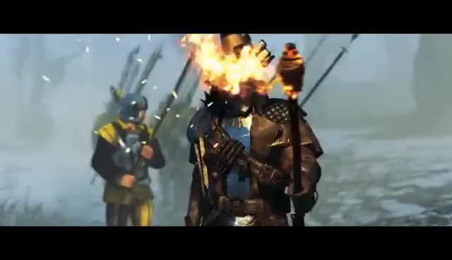 Watch and share Total War: WARHAMMER - Vampire Counts - In-Engine Cinematic Trailer [ESRB] GIFs on Gfycat
