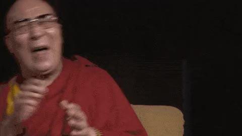 Watch and share Dalai Lama GIFs on Gfycat