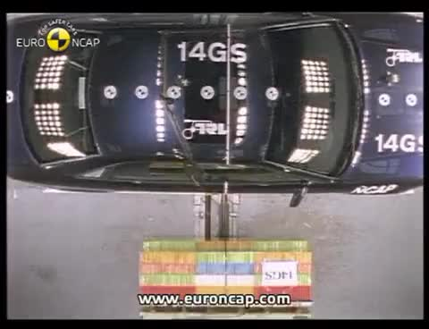 Watch and share Euro NCAP | Audi A4 | 1997 | Crash Test GIFs on Gfycat