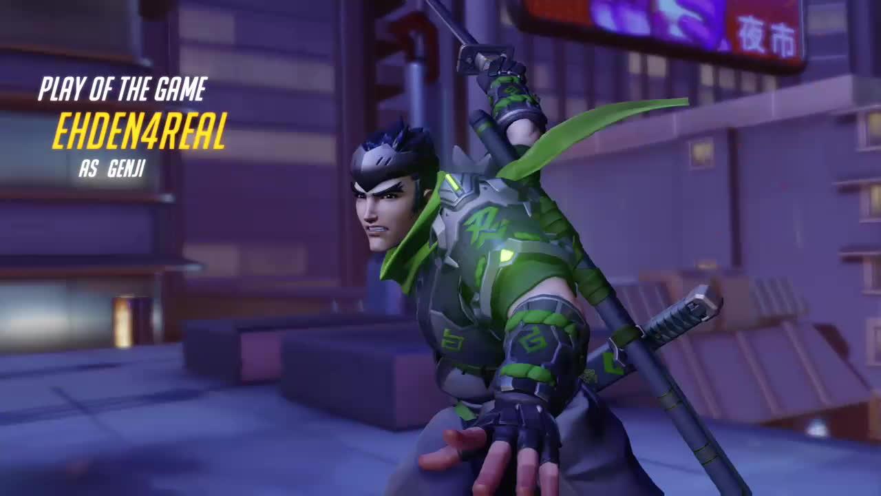 genji, nanoboost, overwatch, ultimategifs, OMG its Happening! Pro Genji gone right GIFs