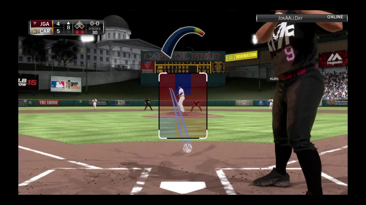 DiamondDynasty, mlbtheshow, First baseman not covering first GIFs