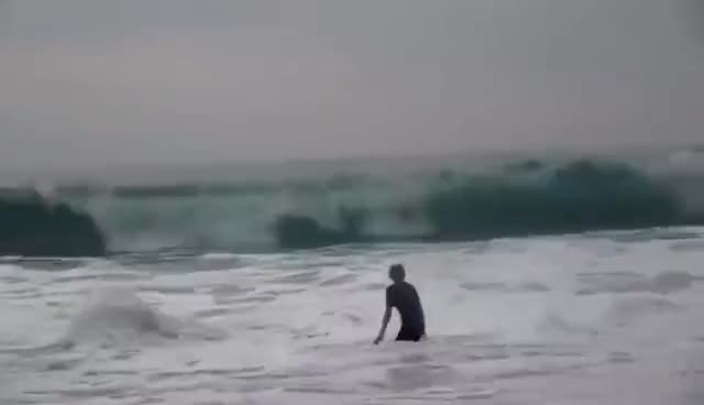 Watch WRECKED by Waves in Hawaii GIF on Gfycat. Discover more related GIFs on Gfycat