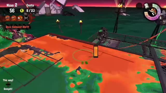 Watch and share Salmon Run GIFs and Splatoon GIFs by fizzy on Gfycat