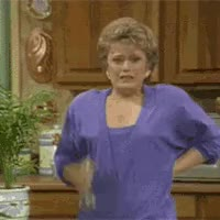 Watch and share *Rue McClanahan (actress,  Blanche Devereaux TV Show Photo: Blanche Devereaux Mist BlancheHott.gif GIFs on Gfycat