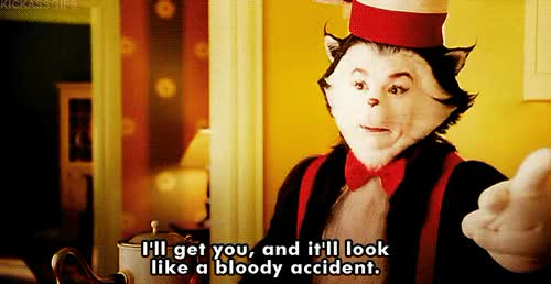 Watch anger cat in the hat GIF on Gfycat. Discover more related GIFs on Gfycat