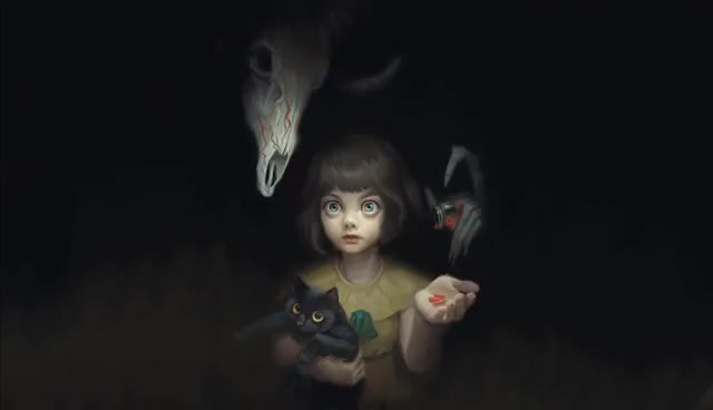 Watch and share Fran Bow - Fanart Animated GIFs on Gfycat