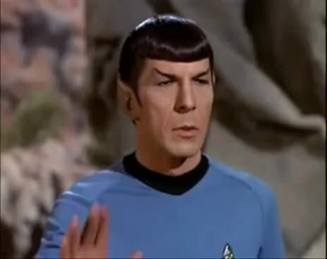 Watch and share Star Trek GIFs and Spock GIFs on Gfycat