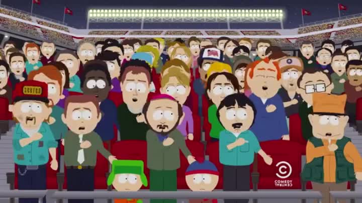 southpark, This world needs more South park and less colin kaepernick GIFs