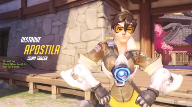 Watch and share Overwatch GIFs and Tracer GIFs by Wesley Alves Lemos on Gfycat