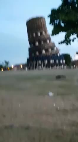 Watch and share Giant Bonfire Collapse GIFs by LimeLights  on Gfycat