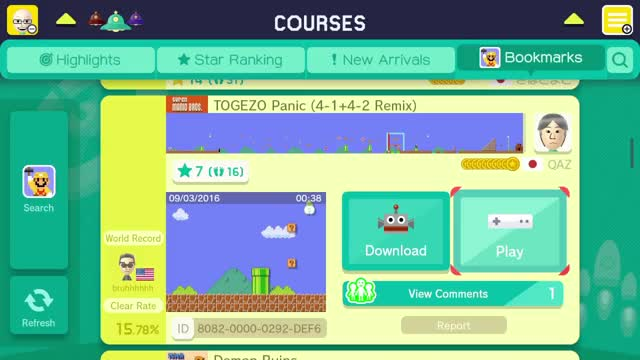 Watch TOGEZO Panic (4-1+4-2 Remix) by QAZ 一SUPER MARIO MAKER一 - No Commentary GIF on Gfycat. Discover more bros, bros., created, gameplay, guide, i don't know what to watch, maker, mario, no commentary, no talk, play, popcorn, random, stage, super, thumb, tutorial, walkthrough, what to watch, wii u GIFs on Gfycat