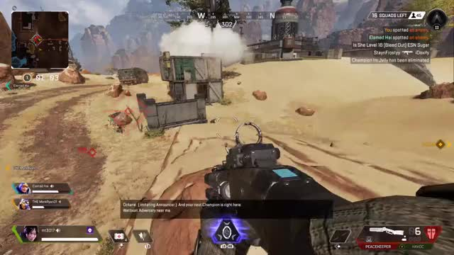 Watch and share Apex Legends GIFs and Peacekeeper GIFs by jonreremy21 on Gfycat