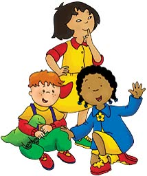 Watch and share Caillou animated stickers on Gfycat