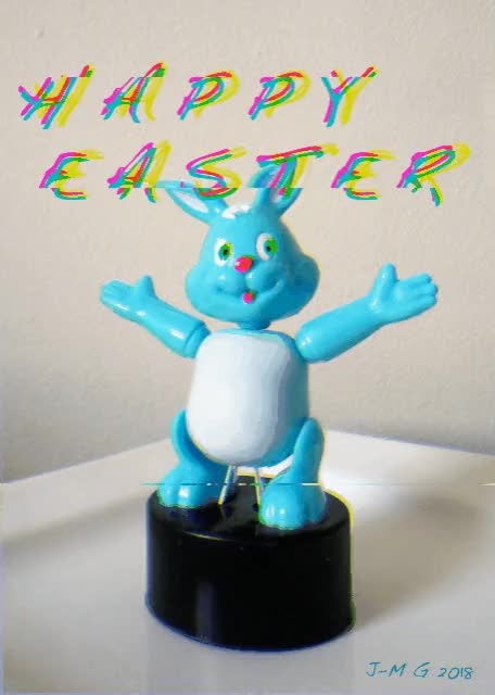 Watch and share Easter 2018 Jitter GIFs by jmguyaux on Gfycat