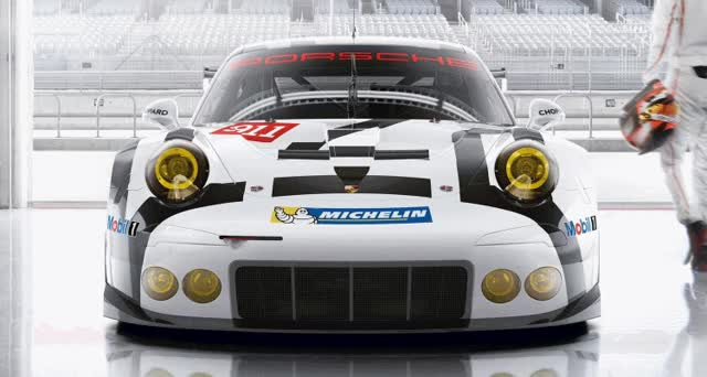 Watch Porsche has three core racing 911's for 2015: the brand-new GT3 R, the GT3 Cup and works racing 9911 RSR. GIF on Gfycat. Discover more related GIFs on Gfycat