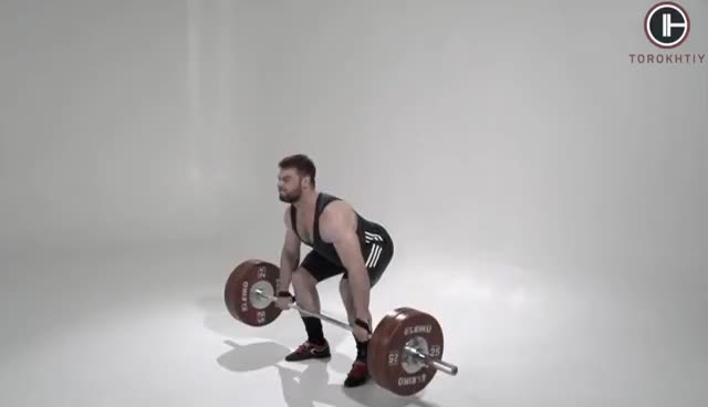 Hang CLEAN / weightlifting & crossfit GIFs