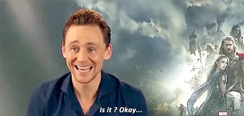 Watch a You abandoned me. a GIF on Gfycat. Discover more AP, brothers, chris hemsworth, hiddlesedit, interview, loki laufeyson, mygif, thor odinson, thor the dark world, tom hiddleston, tumblr GIFs on Gfycat