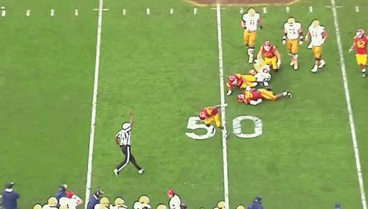 cfb, SB Nation GIF - Toughest ref ever. GIFs