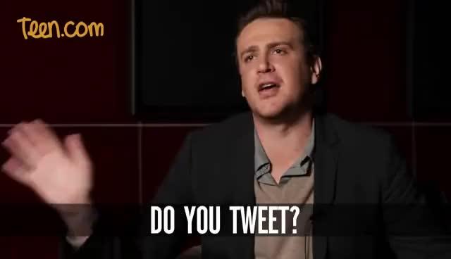 Watch tweet GIF on Gfycat. Discover more jason segel GIFs on Gfycat