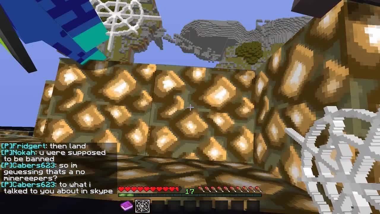 CompetitiveMinecraft, competitiveminecraft, Floating Islands Cobweb GIFs