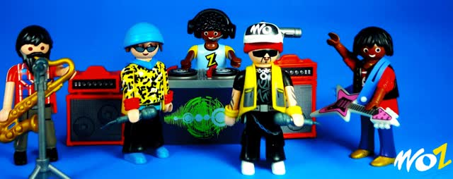 Watch and share Rap Playmobil GIFs on Gfycat