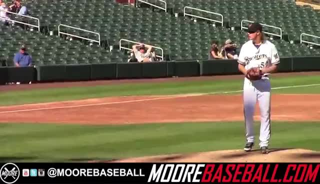 Josh Hader Prospect Video, LHP, Milwaukee Brewers November 2015 GIFs