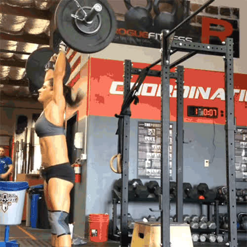 Fit Girl Crossfit GIFs