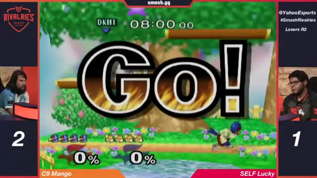 Smash Rivalries - MANG0 vs LUCKY - Singles Losers Round 2